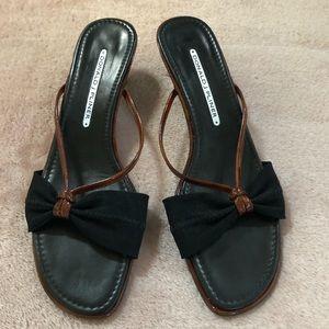 🔸Donald J Pliner 🔸Kitten Heel Sandals Size: 7.5
